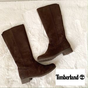 Timberland Brown Waterproof Tall Boots